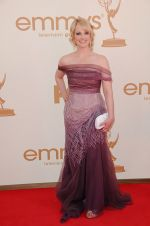 Melissa Rauch attends the 63rd Annual Primetime Emmy Awards in Nokia Theatre L.A. Live on 18th September 2011.jpg