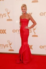 Nancy O_Dell attends the 63rd Annual Primetime Emmy Awards in Nokia Theatre L.A. Live on 18th September 2011.jpg
