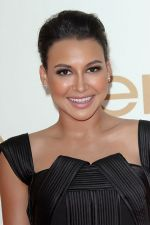 Naya Rivera attends the 63rd Annual Primetime Emmy Awards in Nokia Theatre L.A. Live on 18th September 2011 (1).jpg