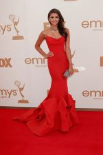 Nina Dobrev attends the 63rd Annual Primetime Emmy Awards in Nokia Theatre L.A. Live on 18th September 2011 (2).jpg