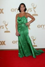 Olivia Munn attends the 63rd Annual Primetime Emmy Awards in Nokia Theatre L.A. Live on 18th September 2011.jpg