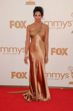 Padma Lakshmi attends the 63rd Annual Primetime Emmy Awards in Nokia Theatre L.A. Live on 18th September 2011.jpg