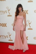 Paz de la Huerta attends the 63rd Annual Primetime Emmy Awards in Nokia Theatre L.A. Live on 18th September 2011.jpg