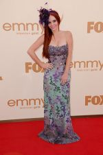 Phoebe Price attends the 63rd Annual Primetime Emmy Awards in Nokia Theatre L.A. Live on 18th September 2011 (2).jpg