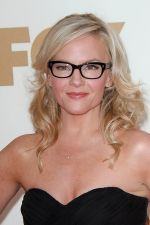 Rachael Harris attends the 63rd Annual Primetime Emmy Awards in Nokia Theatre L.A. Live on 18th September 2011 (1).jpg