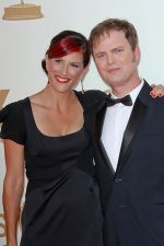Rainn Wilson and Holiday Reinhorn attends the 63rd Annual Primetime Emmy Awards in Nokia Theatre L.A. Live on 18th September 2011.jpg