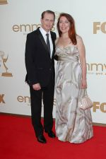 Steve Buscemi and Jo Andres attends the 63rd Annual Primetime Emmy Awards in Nokia Theatre L.A. Live on 18th September 2011.jpg