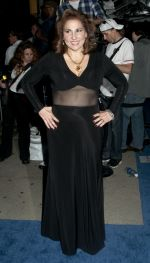Kathy Najimy arriving to the FIVE Lifetime TV Series New York City Screening in Skylight Studios on September 26, 2011.jpg