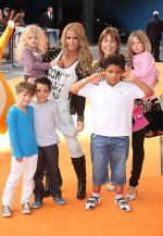 Katie Price and family attends The Lion King 3D UK Premiere in BFI IMAX, Waterloo on 25th September 2011 (1).jpg
