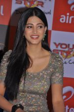 Shruti Hassan attends 2011 Airtel Youth Star Hunt Launch in AP on 24th September 2011 (96).jpg