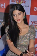 Shruti Hassan attends 2011 Airtel Youth Star Hunt Launch in AP on 24th September 2011 (97).jpg