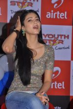 Shruti Hassan attends 2011 Airtel Youth Star Hunt Launch in AP on 24th September 2011 (98).jpg
