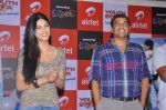 Shruti Hassan, Dil Raju attends 2011 Airtel Youth Star Hunt Launch in AP on 24th September 2011 (44).jpg