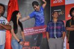 Shruti Hassan, Dil Raju, Team attends 2011 Airtel Youth Star Hunt Launch in AP on 24th September 2011 (98).jpg