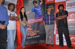 Shruti Hassan, Dil Raju, Team attends 2011 Airtel Youth Star Hunt Launch in AP on 24th September 2011 (99).jpg