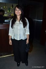 Alisha Chinoy at The Bartender album launch by Sony Music in Blue Frog on 27th Sept 2011 (19).JPG