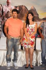 Deeksha Seth, Chiyaan Vikram attends Rajapattai Press Meet (19).jpg