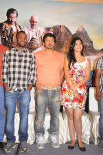 Deeksha Seth, Chiyaan Vikram attends Rajapattai Press Meet (3).jpg
