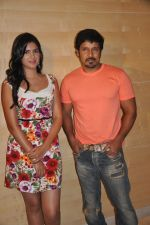 Deeksha Seth, Chiyaan Vikram attends Rajapattai Press Meet (9).jpg