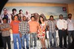Deeksha Seth, Chiyaan Vikram, Pradeep Rawat, Team attends Rajapattai Press Meet (1).jpg