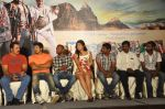 Deeksha Seth, Chiyaan Vikram, Pradeep Rawat, Team attends Rajapattai Press Meet (5).jpg