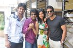 Naga Shaurya, Adarsh Balakrishna, Surya Teja, Sarika Affan in Cricket Girls and Beer Press Meet on 26th September 2011 (3).jpg