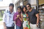 Naga Shaurya, Adarsh Balakrishna, Surya Teja, Sarika Affan in Cricket Girls and Beer Press Meet on 26th September 2011 (4).jpg
