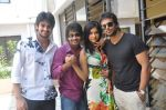 Naga Shaurya, Adarsh Balakrishna, Surya Teja, Sarika Affan in Cricket Girls and Beer Press Meet on 26th September 2011 (5).jpg