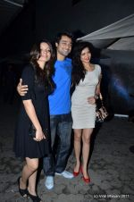 Shama Sikander, Karishma Tanna at The Bartender album launch by Sony Music in Blue Frog on 27th Sept 2011 (41).JPG