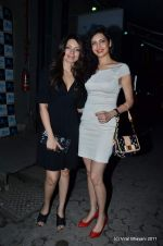Shama Sikander, Karishma Tanna at The Bartender album launch by Sony Music in Blue Frog on 27th Sept 2011 (43).JPG