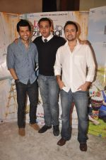 Vaibhav Talwar, Satyadeep Mishra, Cyrus Sahukar at Love Break up zindagi promotional event in Mehboob on 27th Sept 2011 (26).JPG