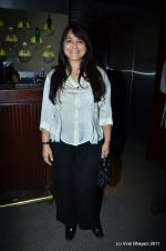 alisha chinoy at The Bartender album launch by Sony Music in Blue Frog on 27th Sept 2011 (2).JPG