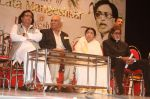 Lata Mangeshkar, Amitabh Bachchan, Yash Chopra at Lata Mangeshkar_s birthday concert in Shanmukhanand Hall on 28th Sept 2011 (16).JPG