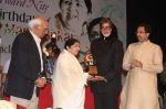 Lata Mangeshkar, Amitabh Bachchan, Yash Chopra at Lata Mangeshkar_s birthday concert in Shanmukhanand Hall on 28th Sept 2011 (29).JPG