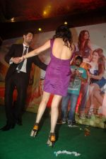 Sagarika Ghatge, Chirag Paswan at the audio release of the film Miley Naa Miley Hum in Novotel on 28th Sept 2011 (55).JPG