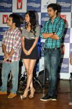 Saqib Saleem, Saba Azad at Yashraj Films Mujhse Fraandship Karoge music showcase in Yashraj Studios on 28th Sept 2011 (11).JPG