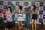 Saqib Saleem, Tara D_Souza, Saba Azad, Nishant Dahiya at the Audio release of Mujhse Fraaandship Karoge in Yashraj Studios on 28th Sept 2011 (26).JPG