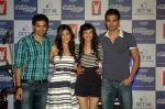Saqib Saleem, Tara D_Souza, Saba Azad, Nishant Dahiya at the Audio release of Mujhse Fraaandship Karoge in Yashraj Studios on 28th Sept 2011 (50).JPG