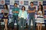 Saqib Saleem, Tara D_Souza, Saba Azad, Nishant Dahiya at the Audio release of Mujhse Fraaandship Karoge in Yashraj Studios on 28th Sept 2011 (7).JPG