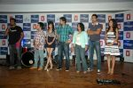 Saqib Saleem, Tara D_Souza, Saba Azad, Nishant Dahiya at the Audio release of Mujhse Fraaandship Karoge in Yashraj Studios on 28th Sept 2011 (8).JPG