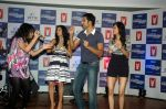 Saqib Saleem, Tara D_Souza, Saba Azad, Nishant Dahiya, Aditi Singh Sharma at Yashraj Films Mujhse Fraandship Karoge music showcase in Yashraj Studios on 28th Sept 2011 (28).JPG