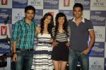 Saqib Saleem, Tara D_Souza, Saba Azad, Nishant Dahiya at Yashraj Films Mujhse Fraandship Karoge music showcase in Yashraj Studios on 28th Sept 2011 (51).JPG