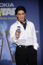 Shahrukh Khan unveils the new Nokia Symbian mobile in Trident, Mumbai on 28th Sept 2011 (22).JPG