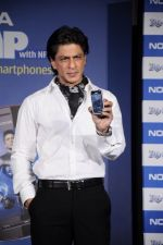 Shahrukh Khan unveils the new Nokia Symbian mobile in Trident, Mumbai on 28th Sept 2011 (23).JPG