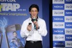 Shahrukh Khan unveils the new Nokia Symbian mobile in Trident, Mumbai on 28th Sept 2011 (8).JPG