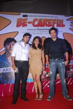 Zaid Shaikh, Shilpi Sharma, Rajneesh Duggal at Be Careful music launch in Sheesha Lounge on 28th Sept 2011 (72).JPG