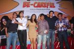 Zaid Shaikh, Shilpi Sharma, Rajneesh Duggal at Be Careful music launch in Sheesha Lounge on 28th Sept 2011 (75).JPG