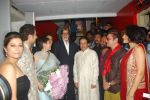 Deepa Sahi, Amitabh Bachchan, Anup Jalota, Vinay Pathak at the Premiere of film Tere Mere Phere in PVR on 29th Sept 2011 (71).JPG