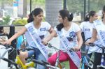 2011 Miss Hyderabad Team participates in Go Green Ride on 1st October 2011 (1).JPG