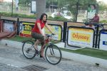 2011 Miss Hyderabad Team participates in Go Green Ride on 1st October 2011 (100).JPG